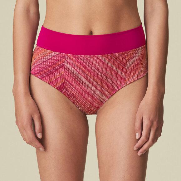 MARIE JO SWIM - Esmee høj  folde bikinitrusse wild rose
