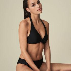 MARIE JO SWIM - Blanche bikinitop med fyld trekant / black