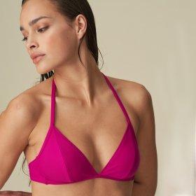 MARIE JO SWIM - Aurelie bikinitop trekant uden bøjle pink