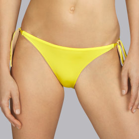 Andres Sarda - Boheme lav bikinitrusse med bånd day (gul)
