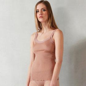 Dana - Parigi silketop smal strop nude