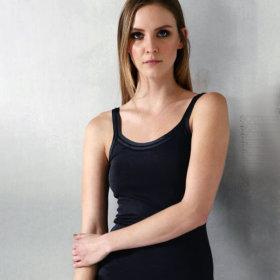 Dana - Parigi silketop smal strop black