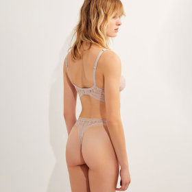 ELSE LINGERIE - Chloe string rose quartz