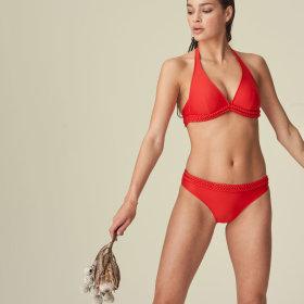 MARIE JO SWIM - Blanche RIO bikinitrusse / pomme d'amour