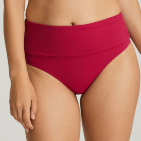 PrimaDonna Swim - Holiday høj folde bikinitrusse barollo red
