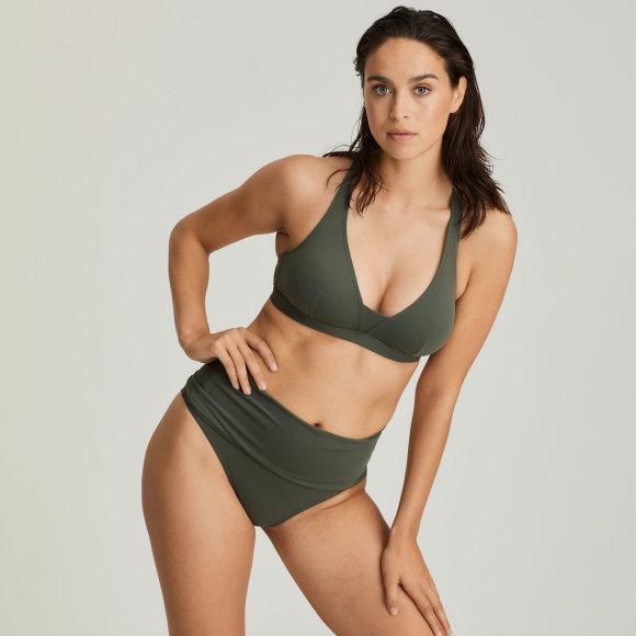 PrimaDonna Swim - Holiday bikinitop udtagelig fyld dark olive