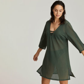 PrimaDonna Swim - Holiday kaftan kjole dark olive