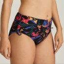 PrimaDonna Swim - Oasis høj bikinitrusse med bånd black cactus