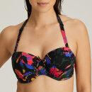 PrimaDonna Swim - Oasis bikinitop med fyld balconet black cactus