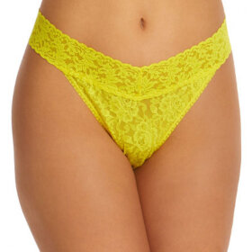 Hanky Panky - Signature Lace Original Rise thong zest yellow