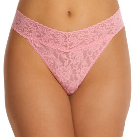Hanky Panky - Signature Lace Original rise thong pink lady