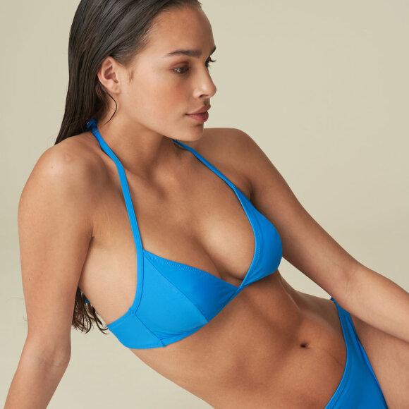 MARIE JO SWIM - Aurelie bikinitop trekant uden bøjle blue