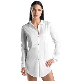 Hanro - Cotton Deluxe natskjorte 90 cm white