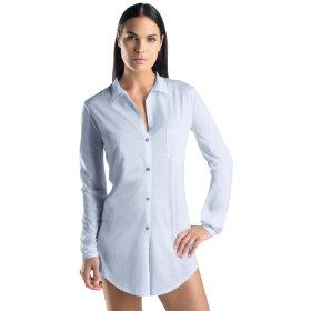 Hanro - Cotton Deluxe natskjorte 90 cm blue glow