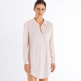 Hanro - Cotton Deluxe natskjorte 90 cm crystal pink