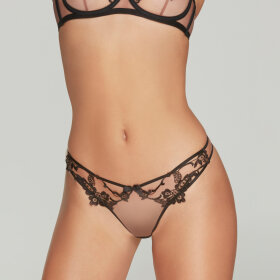 AGENT PROVOCATEUR - Mirabelle string black