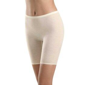 Hanro - Woolen Silk maxi trusse med ben cygne