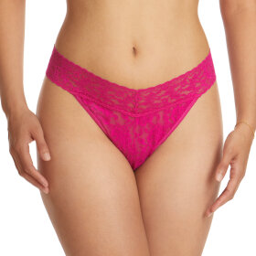 Hanky Panky - Signature Lace original rise thong pink ruby