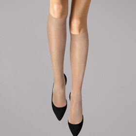 Wolford - Knæstrømpe Satin Touch 20 denier cosmetic