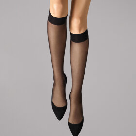 Wolford - Knæstrømpe Satin Touch 20 denier black