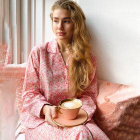 Sonja Love - Pyjamas bomuld pink liberty