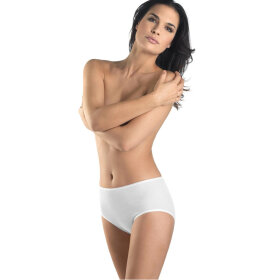 Hanro - Cotton Seamless MAXI høj trusse / white