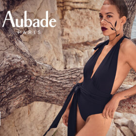 Aubade - La Plage Ensoleil badedragt uden fyld black