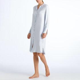 Hanro - Favourites kjole knapper foran 110 cm celestial blue