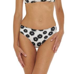 Stella McCartney - Floral klassisk bikinitrusse cream/black -