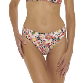 Stella McCartney - Floral klassisk bikinitrusse multicolor pink -