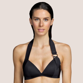 Andres Sarda - Kathryn bikinitop med fyld og uden bøjle - black