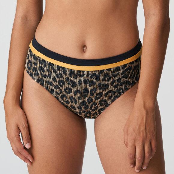 PrimaDonna Swim - Kiribati høj bikinitrusse / golden safari