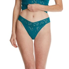 Hanky Panky - Signature Lace Original Rise string / night forest