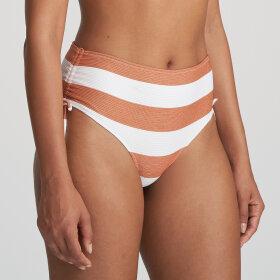 MARIE JO SWIM - Fernanda høj bikinitrusse med sidebånd / summer copper