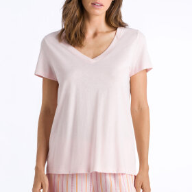 Hanro - Sleep & Lounge top / apricot blush