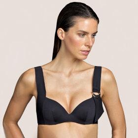 Andres Sarda - Kathryn bikinitop med fyld og bøjle / black