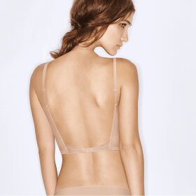 Wonderbra - Ultimate Backless bh med dyb ryg / lys skin