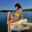MARIE JO SWIM - Manuela badedragt med fyld - sun
