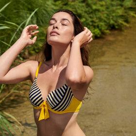 MARIE JO SWIM - Manuela bikinitop med fyld hjertefacon - sun