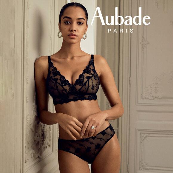 Aubade - Softessence bh uden bøjle med fyld - black