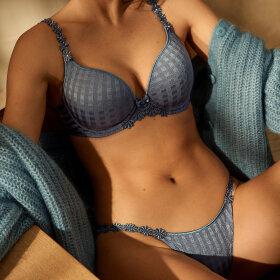 Marie Jo - Avero lav string atlantic blue