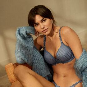 Marie Jo - Avero bh med fyld hjertefacon atlantic blue