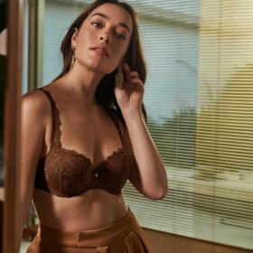 Marie Jo - Serena bh med fyld balconet chestnut