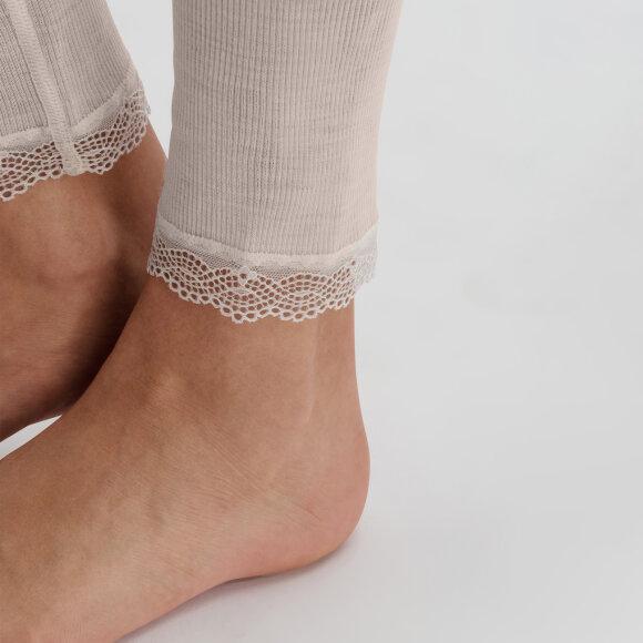 Hanro - Woolen Lace Leggings vanilla