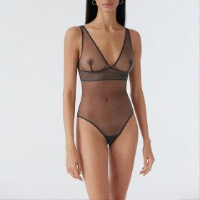 ELSE LINGERIE - Bare body soft cup / graphite