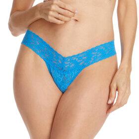 Hanky Panky - Signature Lace Low Rise string fiji blue