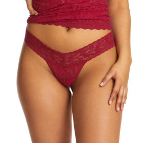 Hanky Panky - Signature Lace Low Rise string cranberry