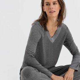 Hanro - Jade pyjamas stone melange