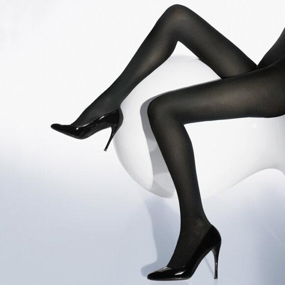 Wolford - Strømpebuks Velvet de Luxe 66 denier black