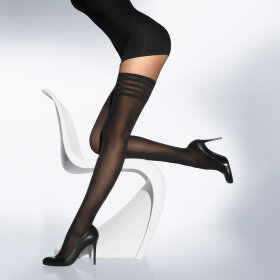 Wolford - Stay Up Velvet de Luxe 50 denier black